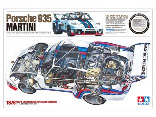 Tamiya maquette voiture 12057 Porsche 935 MARTINI 1/12