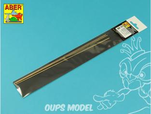 Aber accessoire BR15 Set de 3 tiges laiton 1,5mm
