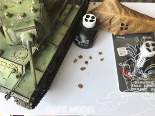 Border model outillage BD0015 Perforatrice Tilleul - Bouleau - Chêne - Firmiana