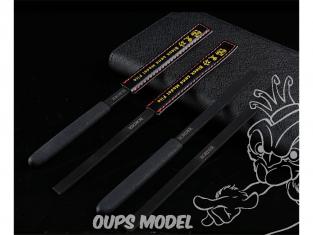 Border model outillage BD0039 Lime 4 en 1 avec manche et étui