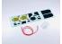 NuNu kit d'amelioration pour maquette de voiture NE24009 Peugeot 306 Maxi Monte carlo Detail Up Parts 1/24