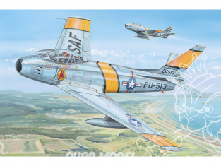 "Hobby Boss maquette avion 81808 Chasseur F-86F-30 ""Sabre"" 1/18"