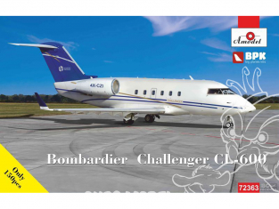 Amodel maquettes avion 72363 Bombardier Challenger CL-600 Challenger 1/72
