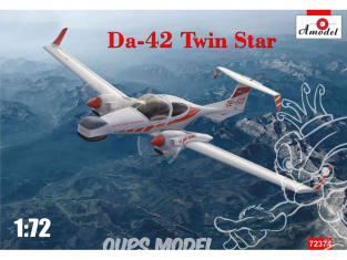 Amodel maquettes avion 72374 Diamond Aircraft DA42 Twin Star 1/72