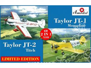 Amodel maquettes avion 72359 Taylor JT-1 et JT-2 monoplace 1/72