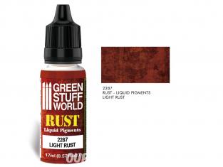 Green Stuff 2287 Pigments Liquides LIGHT RUST 17ml