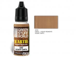 Green Stuff 2292 Pigments Liquides DESERT EARTH 17ml