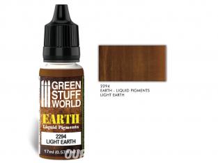 Green Stuff 2294 Pigments Liquides LIGHT EARTH 17ml