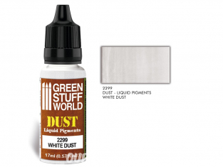 Green Stuff 2299 Pigments Liquides WHITE DUST 17ml