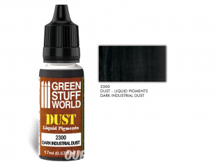 Green Stuff 2300 Pigments Liquides DARK INDUSTRIAL DUST 17ml