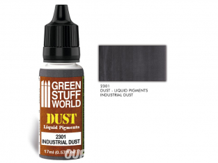 Green Stuff 2301 Pigments Liquides INDUSTRIAL DUST 17ml