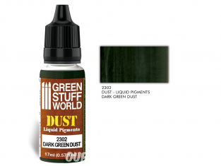 Green Stuff 2302 Pigments Liquides DARK GREEN DUST 17ml