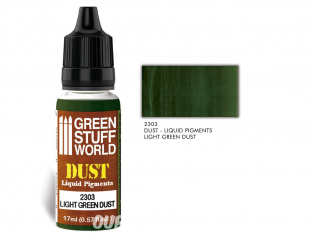 Green Stuff 2303 Pigments Liquides LIGHT GREEN DUST 17ml