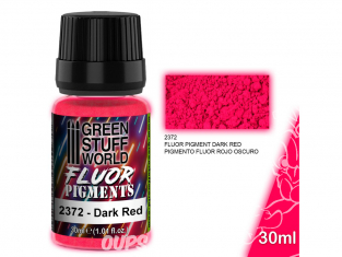 Green Stuff 2372 Pigment FLUOR ROUGE FONCE 30ml