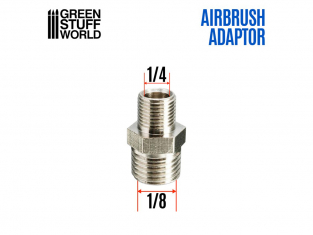 "Green Stuff 507805 Adaptateur Aérographie 1/4 ""à 1/8"""