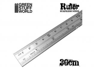 Green Stuff 2452 Réglet métallique de Modélisme 30cm