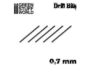 Green Stuff 10145 Mèches de Modélisme 0.7 mm