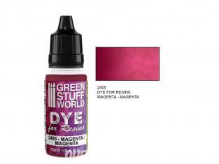 Green Stuff 2405 Colorant pour Résines MAGENTA 15ml