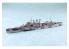 Aoshima maquette bateau 056707 HMS Norfolk (78) croiseur lourd 1/700