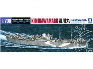 AOSHIMA maquette bateau 009765 Kimikawa Maru transport d'hydravions 1/700