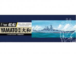 AOSHIMA maquette bateau 052631 Yamato coque entière 1/700