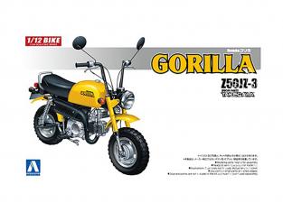 Aoshima maquette moto 58718 Honda Gorilla Z50JZ-3 Pièces Takegawa 1/12