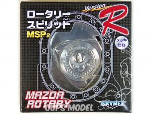 Aoshima maquette voiture 095584 Moteur rotatif MAZDA MSP2 Version R 1/5