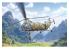 Italeri maquette helicoptere 2774 H-21C Flying Banana GunShip Trois décorations françaises incluses ! 1/48