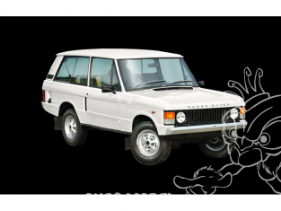 Italeri maquette voiture 3629 RANGE ROVER Classic 50th Anniversary 1/24