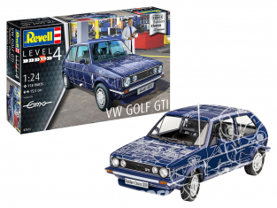 Revell maquette voiture 67673 Model Set VW Golf GTI Builders Choice 1/24