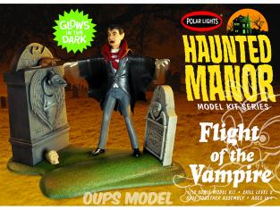 Polar Lights maquette fiction 977 Haunted Manor: Vol du vampire 1/12