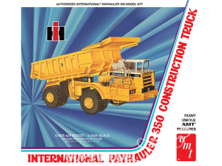 AMT maquette camion 1209 International Payhauler 350 dump trucks 1/25