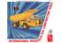 AMT maquette camion 1209 International Payhauler 350 dump trucks 1/25