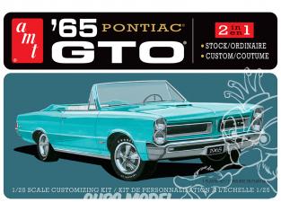 AMT maquette camion 1191 Pontiac GTO decapotable 1965 1/25