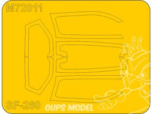 Special Hobby Masque avion M72011 SIAI-Marchetti SF-260M/AM/W 1/72