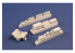 Cmk kit d'amelioration 4415 Boîte à outils allemande de maintenance d'aéronefs de la Seconde Guerre mondiale 1/48