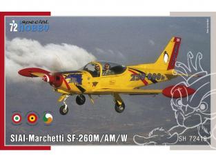 Special Hobby maquette avion 72418 SIAI-Marchetti SF-260M/AM/W 1/72