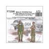 Cmk figurine F72366 Pilote MiG-21 PF / PFM (en combinaison haute pression) et personnel au sol (2 figurine) 1/72