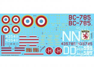 DECALQUES BERNA DECALS BD32-71 Douglas Invader 1/32