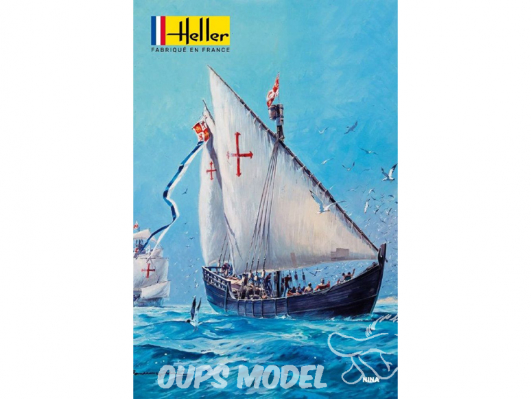 heller maquette bateau 80815 nina 1/75