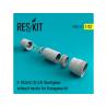 ResKit kit d'amelioration avion RSU32-022 Tuyère pour F-104 Starfighter (A/C/D/J/G) pour kit Hasegawa 1/32
