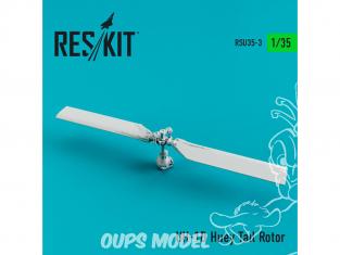 ResKit Kit RSU35-0003 Rotor de queue UH-1D Huey 1/35