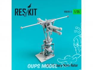 ResKit Kit RSU35-0002 Rotor principal UH-1D Huey 1/35