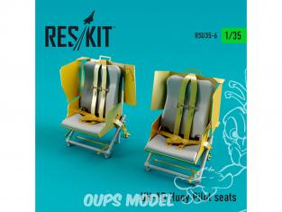 ResKit Kit RSU35-0006 Sièges pilotes UH-1D Huey 1/35