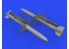 Eduard kit d'amelioration brassin 632164 Armement AGM-88 HARM 1/32