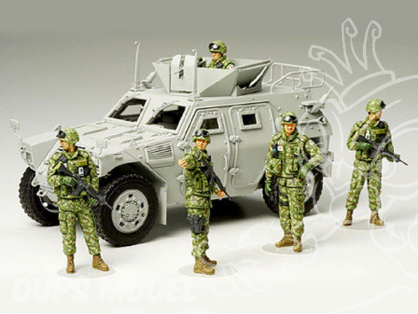 tamiya maquette militaire 35276 équipage 1/35