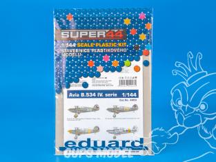 EDUARD maquette avion 4453 Avia B.534 IV. Serie Super44 1/144