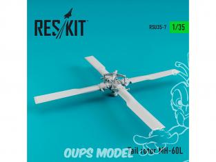 ResKit Kit RSU35-0007 Rotor de queue MH-60L 1/35