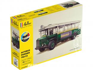 Heller maquette camion 56789 STARTER KIT Autobus TN6 C1 1/24
