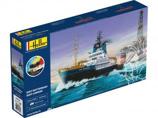 Heller maquette bateau 56620 STARTER KIT Smit Rotterdam 1/200